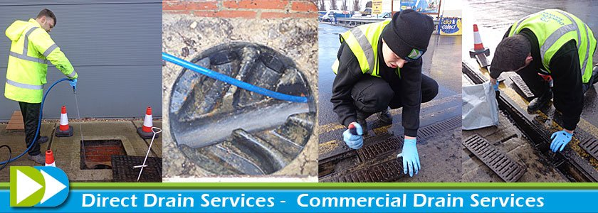 Commercial Drain Cleaning in Middlesex